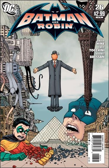 BATMAN AND ROBIN #26 NM (2011)