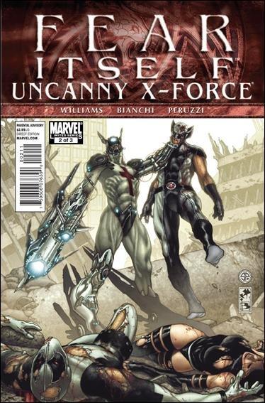 FEAR ITSELF UNCANNY X-FORCE #2 NM (2011)