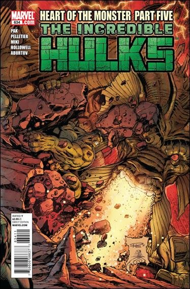 INCREDIBLE HULKS #634 NM (2011)