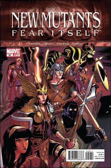 NEW MUTANTS #29 NM (2011) FEAR ITSELF