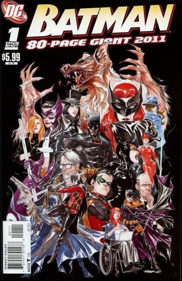 BATMAN 80-PAGE GIANT #1 NM (2011)
