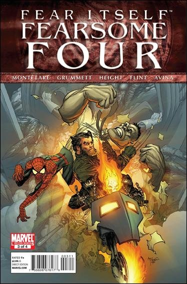 FEAR ITSELF FEARSOME FOUR #3 NM (2011)