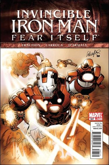 The Invincible Iron Man #507 NM (2011) *Fear Itself*