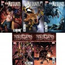 NEW MUTANTS #26, 27, 28, 29, 30 COMPLETE SET NM (2010)