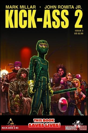 KICK-ASS 2  #3 NM (2011)