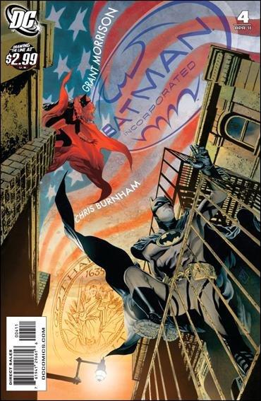BATMAN INC. #4 NM (2011)