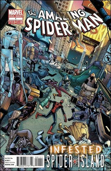 AMAZING SPIDER-MAN: INFESTED #1 NM (2011) *SPIDER ISLAND*