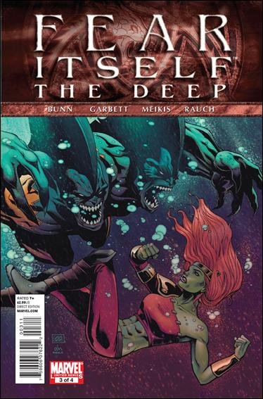 FEAR ITSELF THE DEEP #3 NM (2011)