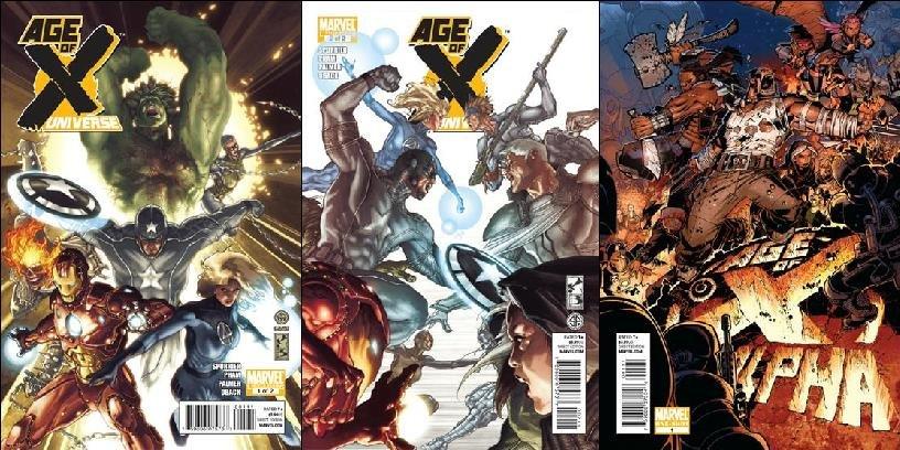 AGE OF X; ALPHA/UNIVERSE VF/NM (2011)