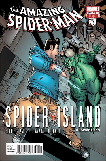 AMAZING SPIDER-MAN #668 NM (2011) *SPIDER ISLAND*