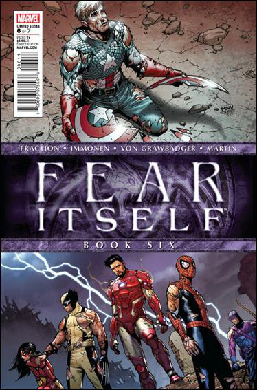 FEAR ITSELF #6 NM (2011)