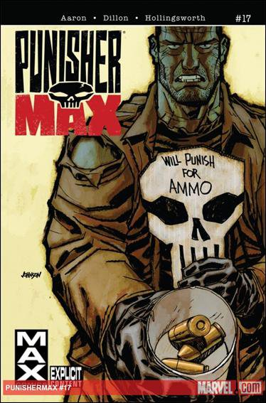 PUNISHERMAX #17 NM (2011) EXPLICIT CONTENT