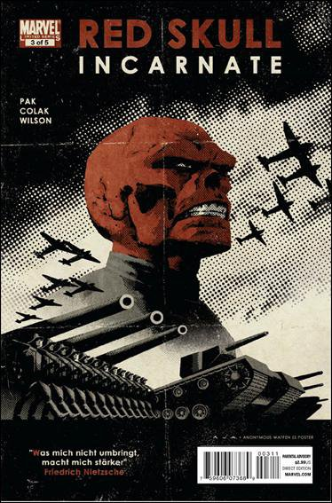RED SKULL INCARNATE #3 NM (2011)