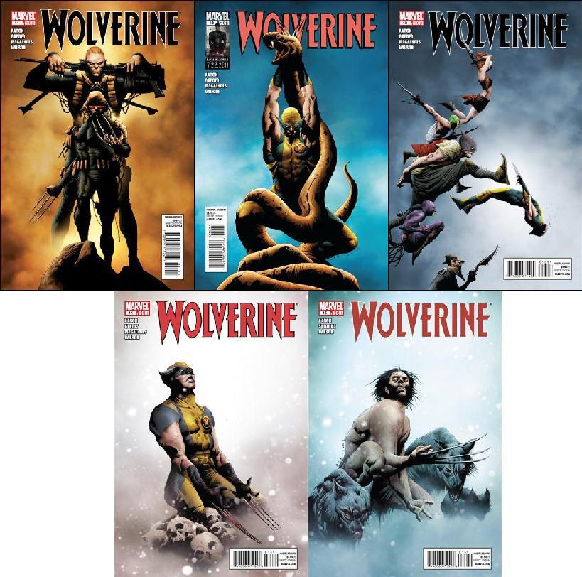 Wolverine [Vol 4] #11 12 13 14 15 [2011] VF/NM *Trade Set*