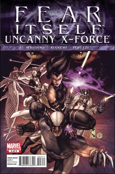 FEAR ITSELF UNCANNY X-FORCE #3 NM (2011)