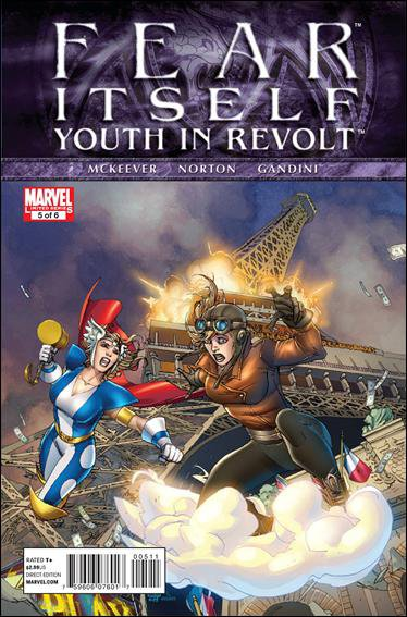 FEAR ITSELF YOUTH IN REVOLT #5 NM (2011)