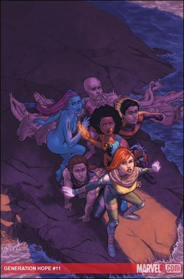 GENERATION HOPE #11 NM (2011)