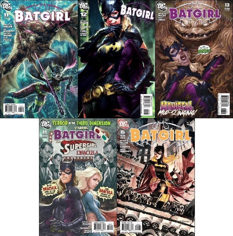 BATGIRL #11, 12, 13, 14, 15 [2011] VF/NM *Trade Set*