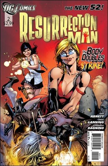 RESURRECTION MAN #2 NM (2011) THE NEW 52!