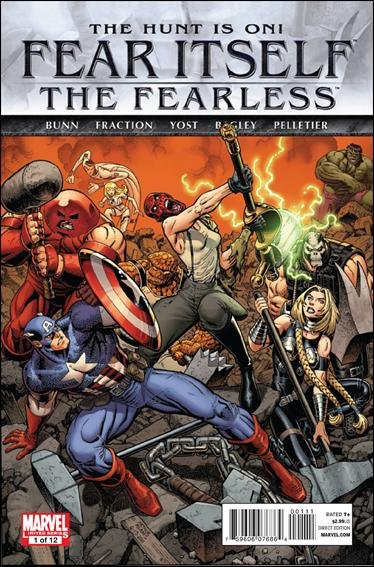 Fear Itself: The Fearless #1 NM (2011)