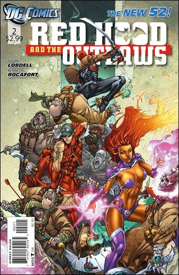Red hood and the Outlaws #2 nm (2011) The New 52!