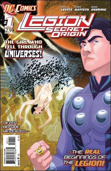 Legion Secret Origin #1 (of 6) NM (2011) The New 52!