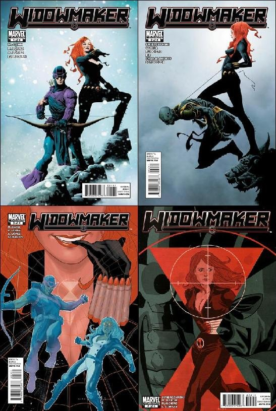Widowmaker #1, 2, 3, 4 [2010] VF/NM *Complete Set!*