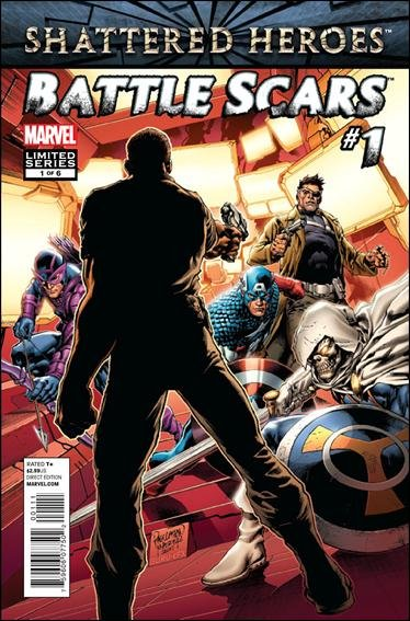 Battle Scars #1 (of 6) NM (2011) *Shattered Heroes*