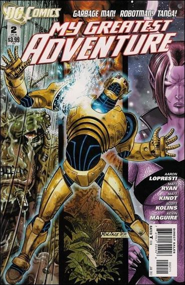 My Greatest Adventure #1 (of 6) NM (2011) Tanga! Robotman! Garbage Man!