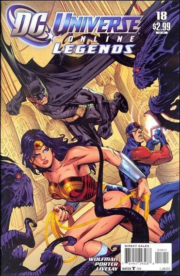 DC Universe Online Legends #18 NM (2011)
