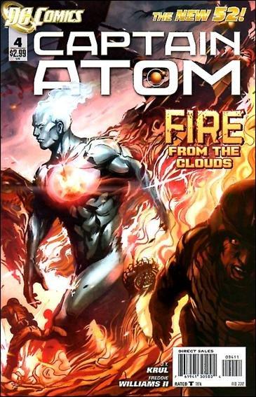 Captain Atom #4 NM (2011) The New 52!
