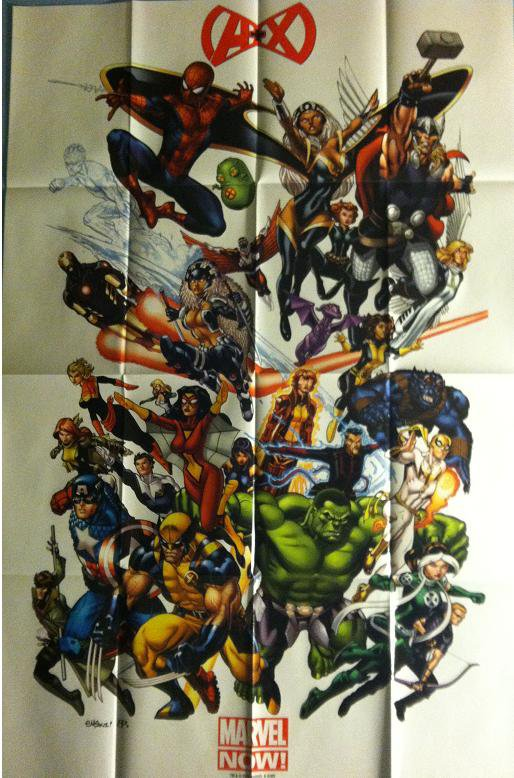 MARVEL NOW - A+X (2012) PROMO POSTER