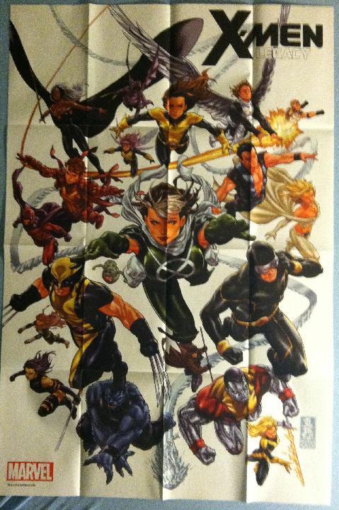 X-MEN LEGACY (2012) PROMO POSTER
