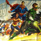 "DC ""DRAWING THE LINE"" (2011) PROMO POSTER"