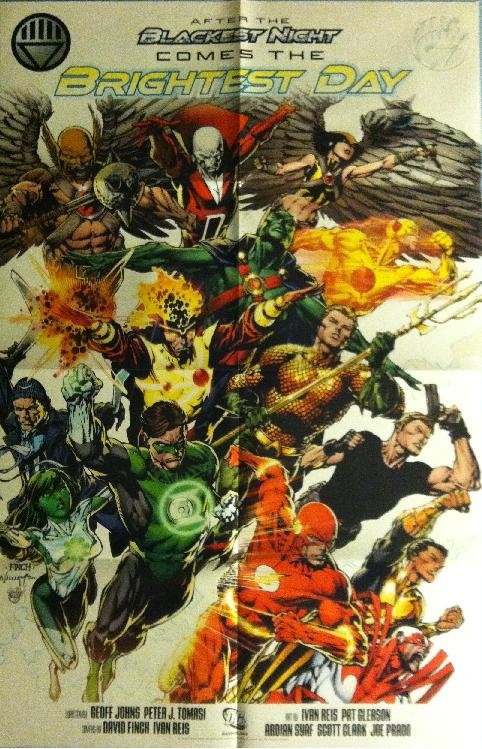 DC BRIGHTEST DAY (2010) PROMO POSTER