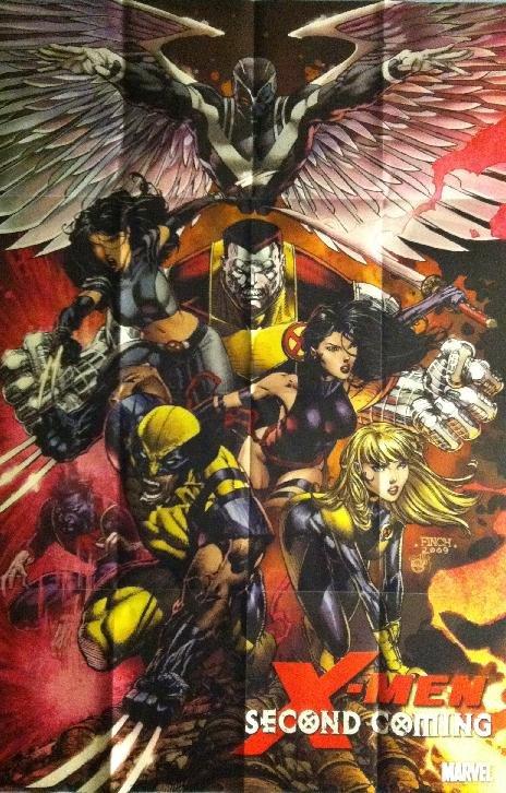 X-MEN: SECOND COMING (2010) DAVID FINCH PROMO POSTER