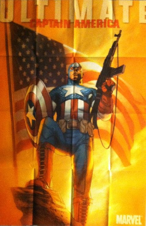 ULTIMATE CAPTAIN AMERICA (2011) PROMO POSTER