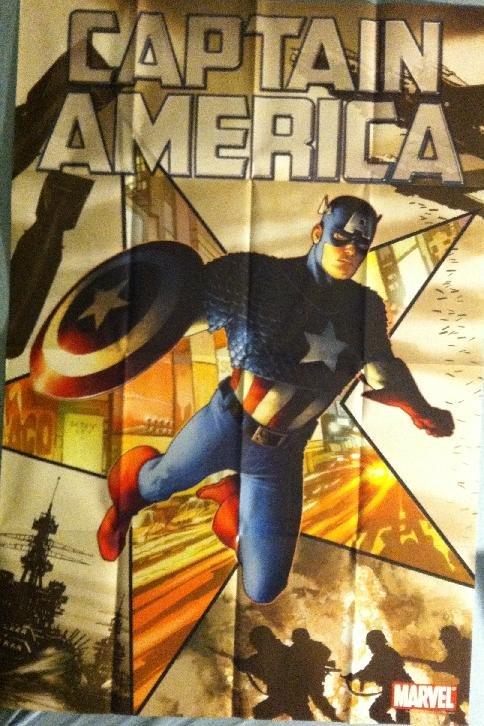 CAPTAIN AMERICA (2011) STEVE MCNIVEN PROMO POSTER