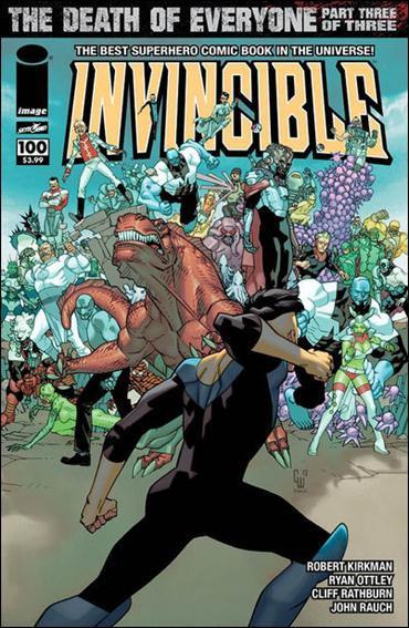 Invincible #100 NM (2013)B Walker cover