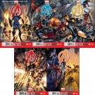 Avengers (2013) #1, 2, 3, 4, 5  VF/NM *Trade Set*