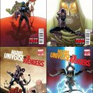 Marvel Universe Vs The Avengers (2012) #1, 2, 3, 4 NM *Complete Set*
