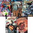 Action Comics #6, 7, 8, 9, 10 (2012) Trade Set!