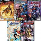 Action Comics #11, 12, 13, 14, 15 (2012) *Trade Set!*