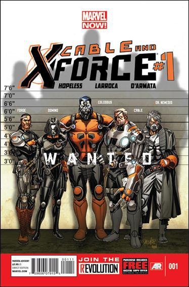 Cable and X-Force #1 [2012] VF/NM