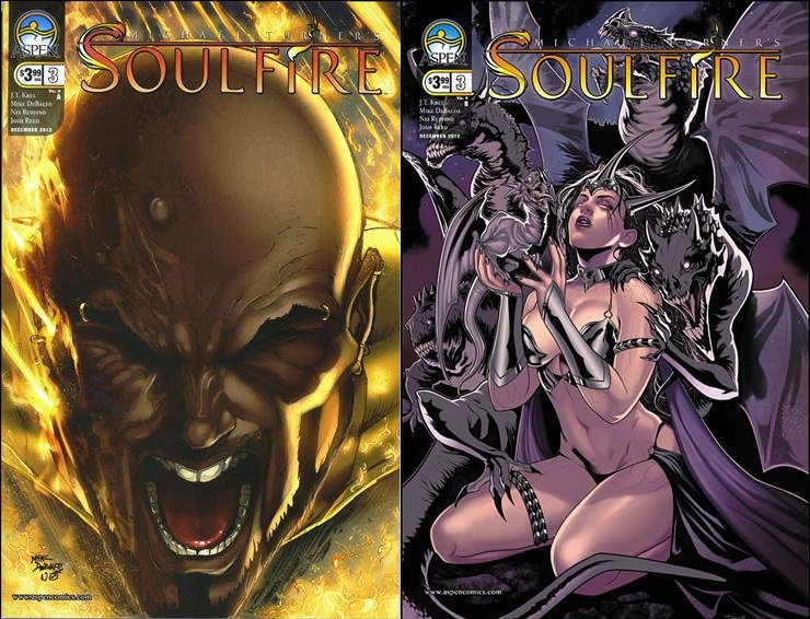 Soulfire #3 A + B [2012] VF/NM