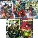 Justice League #16 17 18 19 20 Combo Pack [2012] VF/NM *The New 52! Trade Set*