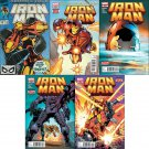 Iron Man (Vol 1) #258, 258.1, 258.2, 258.3, 258.4 [2013] VF/NM  *Trade Set*