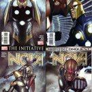 NOVA #1,2,3 & 4 VF/NM (2007) set of 4 comics