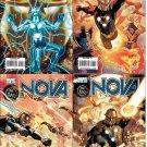 Nova #25 26 27 28 VF/NM (2007) set of 4 comics