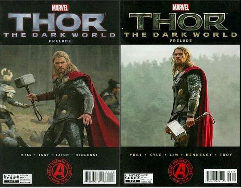 Thor The Dark World Prelude #1 2 [2013] VF/NM *Trade Set*